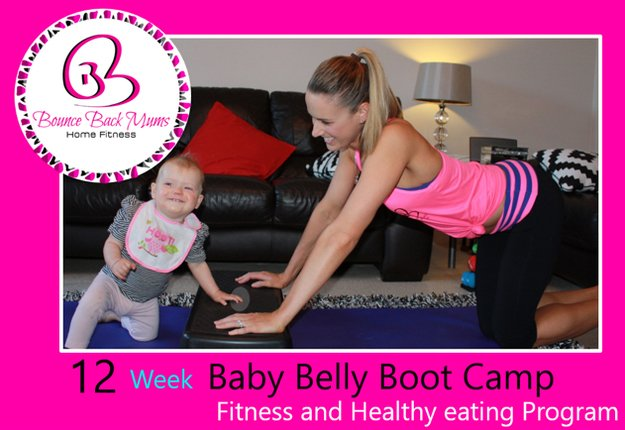 WIN 1 of 2 Baby Belly Boot Camp fitness and healthy eating programs
