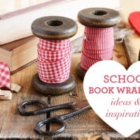 School book wrapping ideas and inspiration