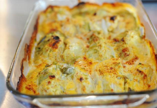 Escalloped Cabbage