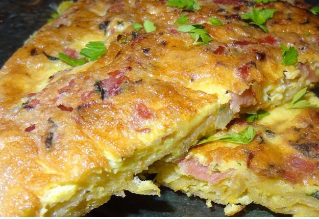 Potato Chip Omelette