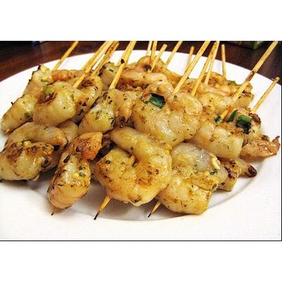 BBQ Garlic Prawns