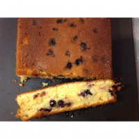 Lemon and Blueberry Slice