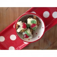 MINI FESTIVE CHRISTMAS PUDDINGS