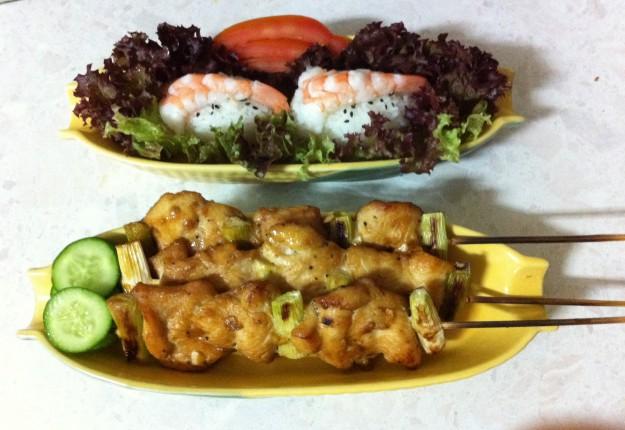 Japanese Chicken Satay