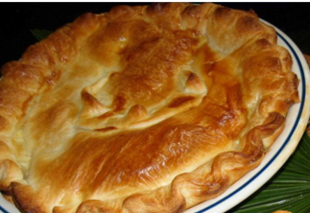 Tasty Red Wine Meat Pie
