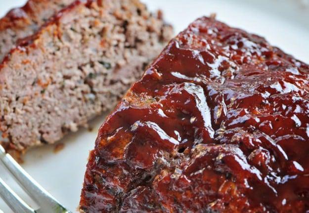 Glazed BBQ Meatloaf
