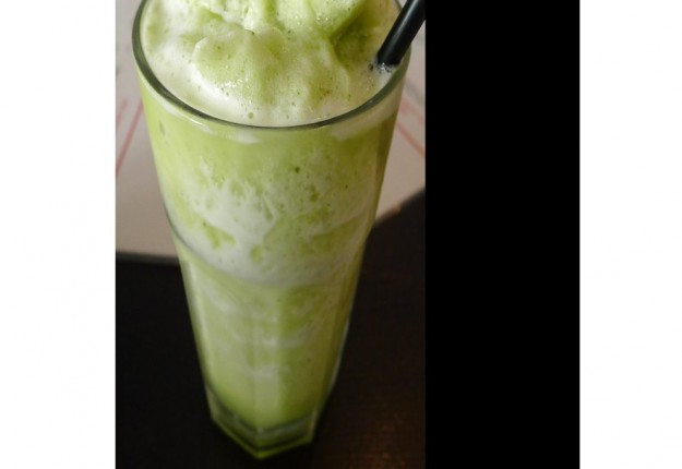 Minty Pineapple frappe