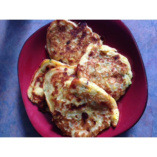 Savoury Vegie Pancakes