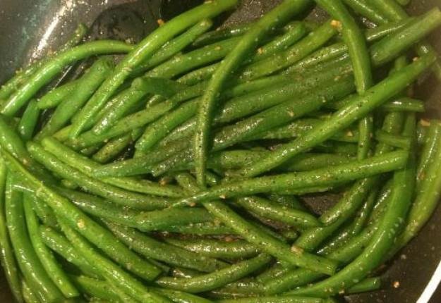 Garlic Butter beans