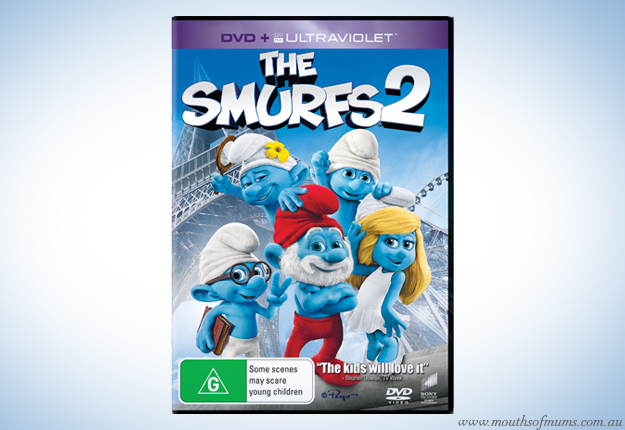 WIN 1 of 10 copies of The Smurfs 2 on Blu-ray™ and UltraViolet™
