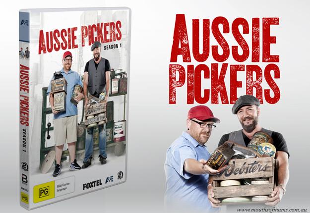 WIN 1 of 20 Aussie Pickers: Season 1 DVDs!