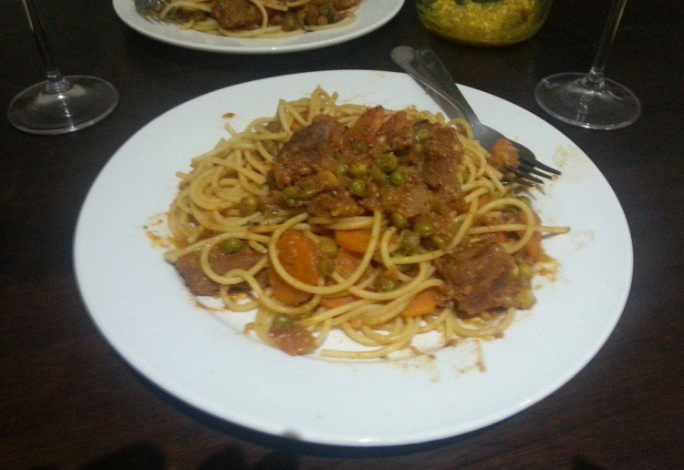 Daddy's special bolognaise