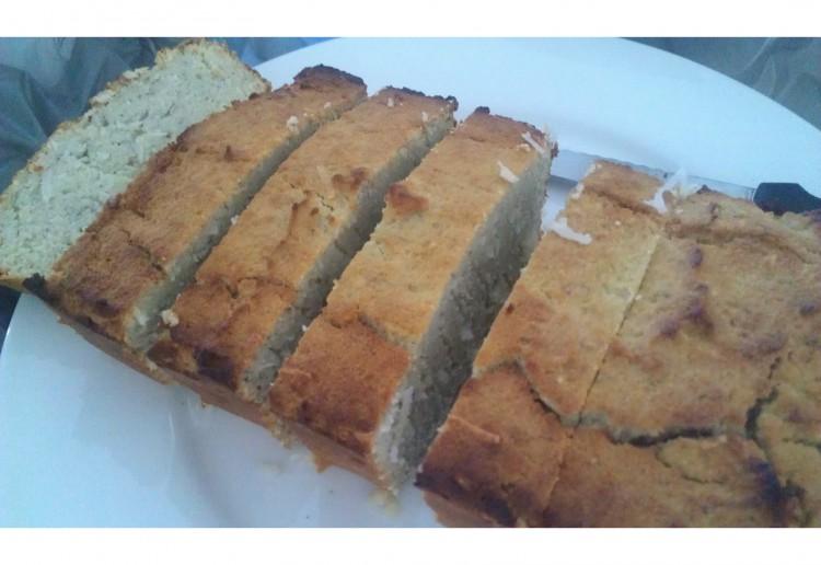 Paleo Triple coconut bread