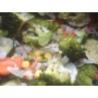 flavour filled steamed veg