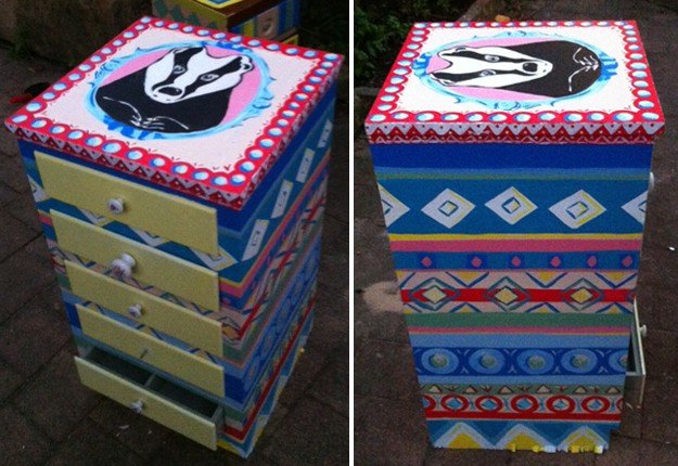 Paint your own badger chest of drawers