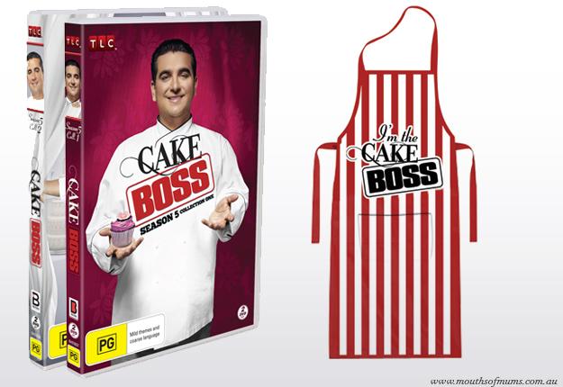 WIN 1 of 8 Cake Boss DVD Prize Packs!