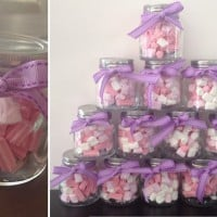 Party lollies in jars