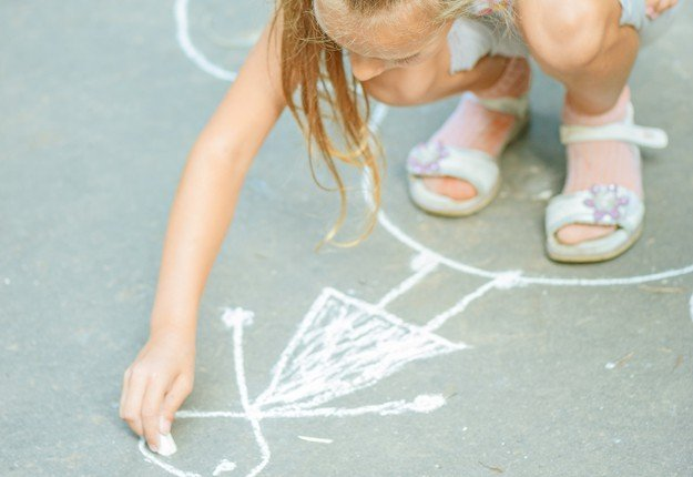 Chalk party paint pictionary game