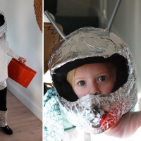 DIY spaceman costume