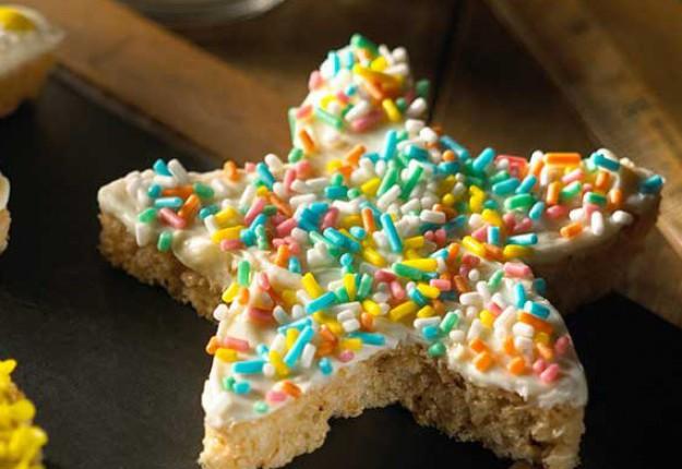 Twinkly star treats