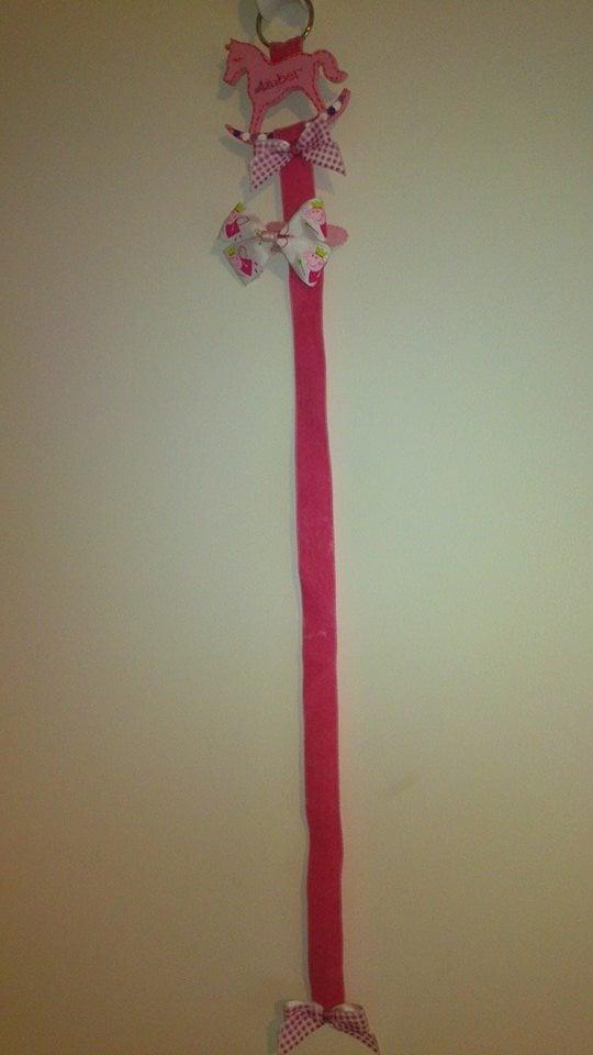 Hair clip hanger