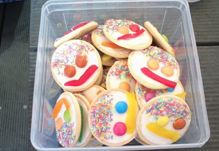 Face party food ideas