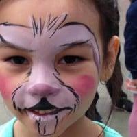 Bunny facepaint