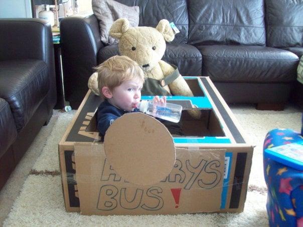 The big box bus