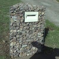 Stone letter box