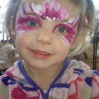 Cute fairy face paint