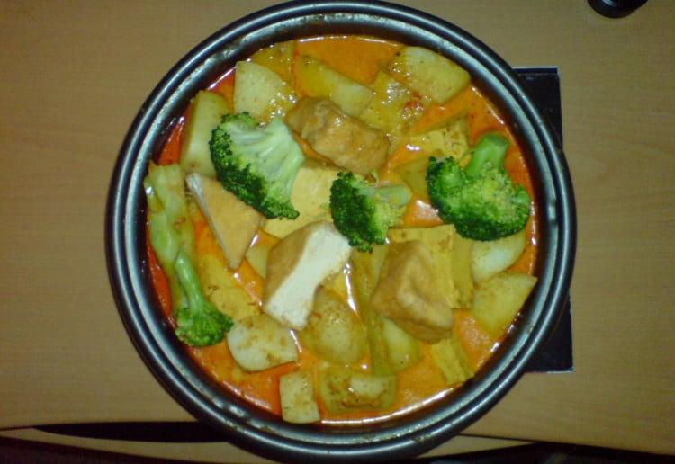 Curry hot pot