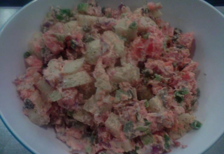 Sweet potato salad.