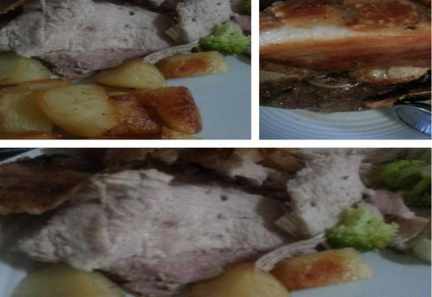 Seasoned Roast Pork with Crisp Crackling