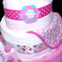 Three Tiered Nappy Cake