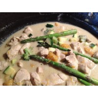 Thai Chicken & Vegetable Green Curry