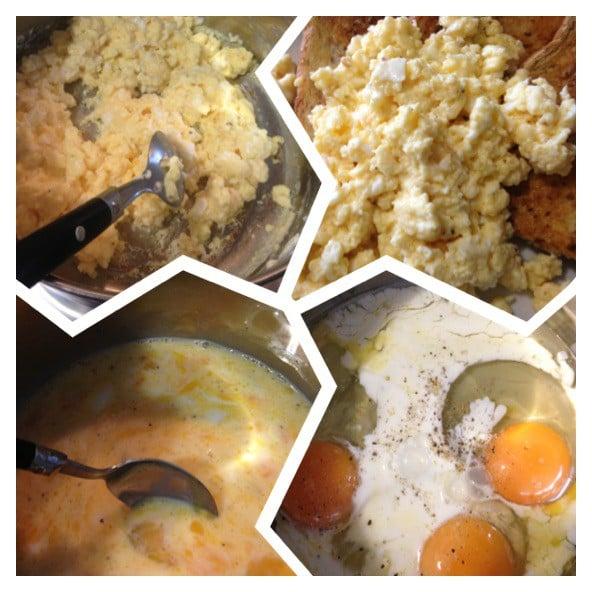 Perfect scrambled eggs!
