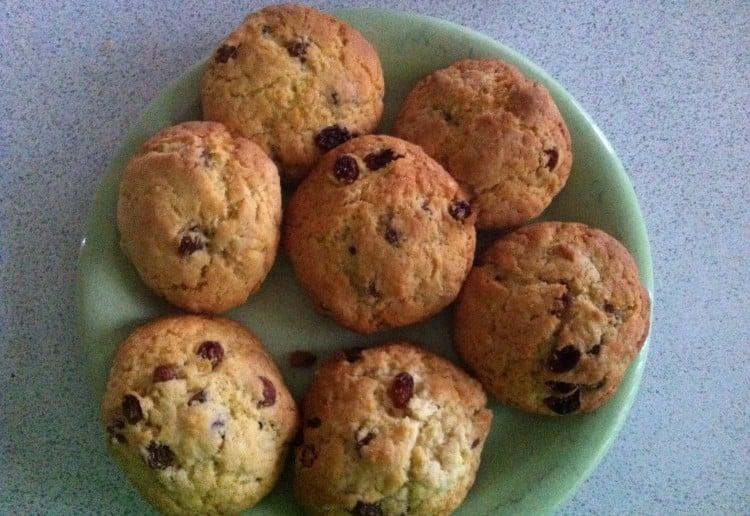 Super sultana cookies