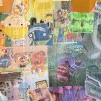 Kids decoupage