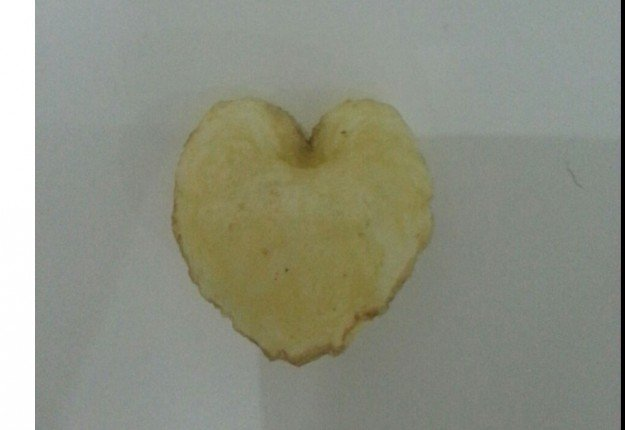 Heart-shaped chips