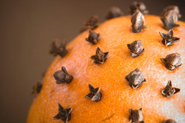 Orange pomander