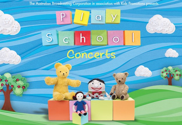 WIN 1 of 5 Play School LIVE prize packs for the 2014 tour