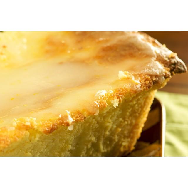Vanilla and ricotta tart