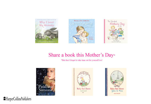 WIN 1 of 5 Mother's Day book packs from HarperCollins