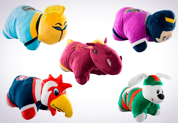 WIN 1 of 20 NRL PILLOW PETS