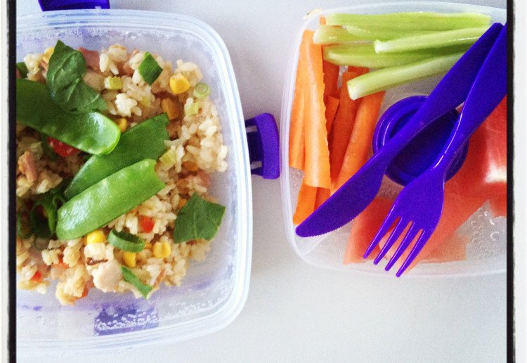 School-Friendly Fried Rice (no nuts, eggs, dairy, shellfish or gluten)