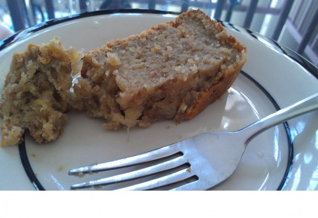 Melt in the mouth banana bread
