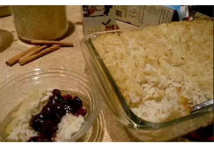 Sarah's Rice cream
