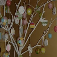 Traditional Europen Easter Tree!
