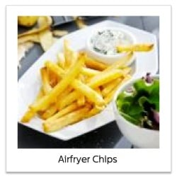 Recipe for Chips using the Philips Airfryer XL Review