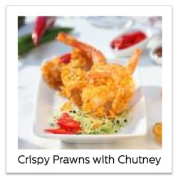 Recipes using Philips Airfryer XL Review_crispy prawns with fruit chutney